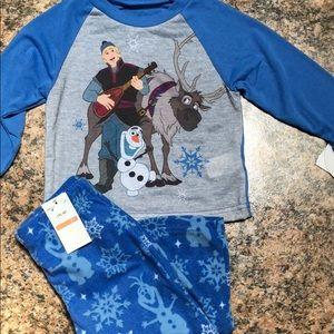 Disney frozen boys 2T 2 pc. Pajama set blue NWT